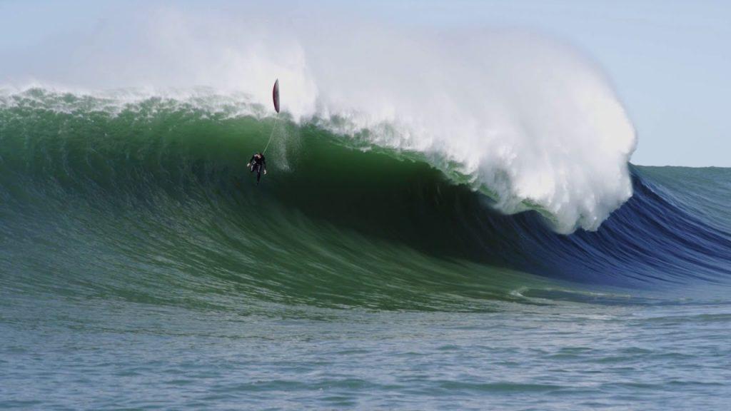 Quanto maior a onda, maior o risco de lesão.