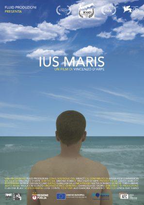 Cartaz de Ius Maris, 1º Festival Internacional de Cinema de Surf de Ubatuba. Foto: Reprodução.