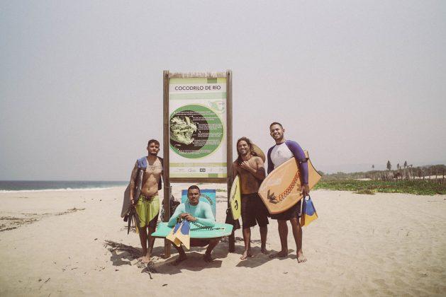 André Carvalho, Caio Araújo, Iuri Giuliani e Jackson Jordan, Colorada, México. Foto: Bruno Rodrigues / Ecoa Filmes.