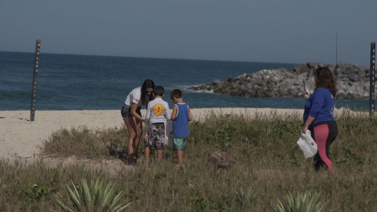 Legado ambiental do Oi Rio Pro, WSL PURE, Oi Rio Pro 2019, Saquarema (RJ). Foto: Renan Vignoli.