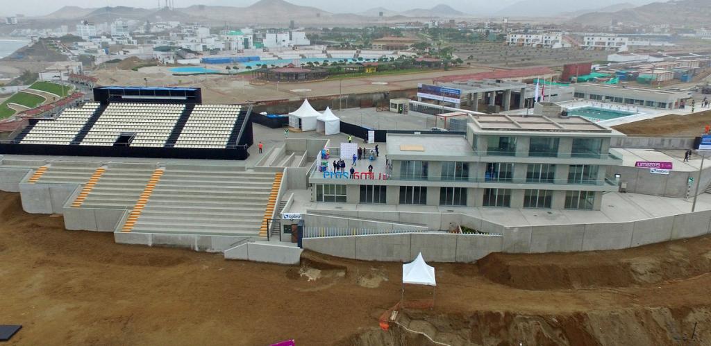 Centro de Alto Rendimento foi sede do surfe nos Jogos Pan-Americanos de Lima.