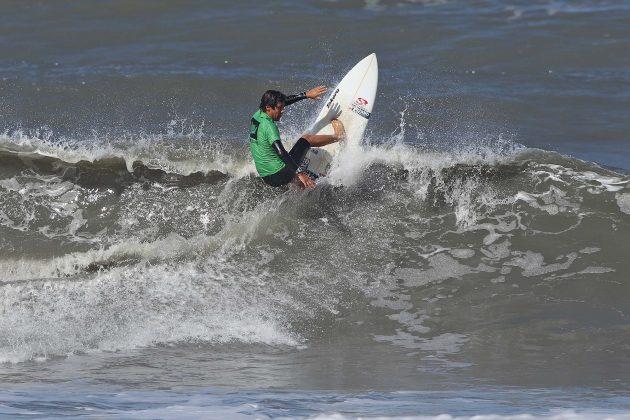 Diego Aguiar, Hang Loose Surf Attack 2019, Perequê-Açú, Ubatuba (SP). Foto: Munir El Hage.