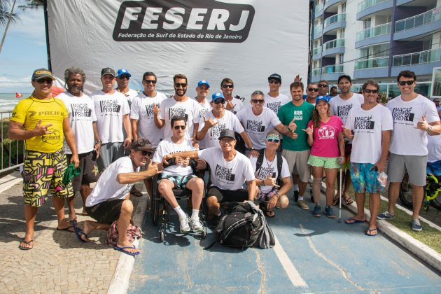 Equipe Feserj, Macaé Surf Pro, Praia do Pecado (RJ). Foto: Leandro Foca.