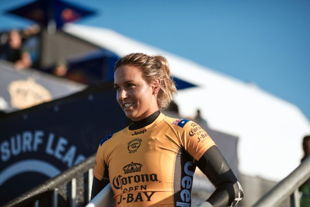 Sally Fitizgibbons, Open J-Bay 2019, Jeffreys Bay, África do Sul. Foto: WSL / Sloane.