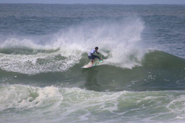 Hizunome Bettero, Maricá Surf Pro / AM 2019, Ponta Negra (RJ). Foto: @surfetv / @carlosmatiasrj.