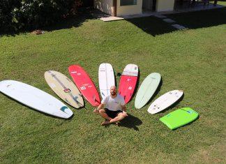 Longboard sem rótulo