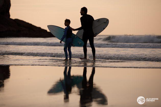 Jihad Khodr e Gabriel Jihad, MB Surf Pro 2019, Praia Grande, Ilha do Mel (PR). Foto: Alexandre Carnieri.