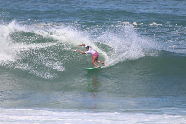 Kayane Reis, Maricá Surf Pro / AM 2019, Ponta Negra (RJ). Foto: @surfetv / @carlosmatiasrj.