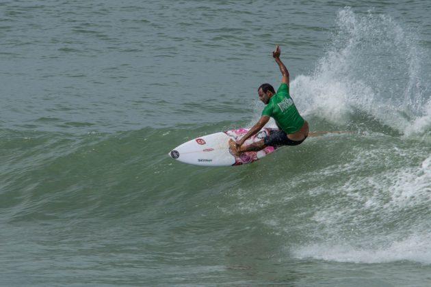 Leandro Bastos, Macaé Surf Pro, Praia do Pecado (RJ). Foto: Leandro Foca.