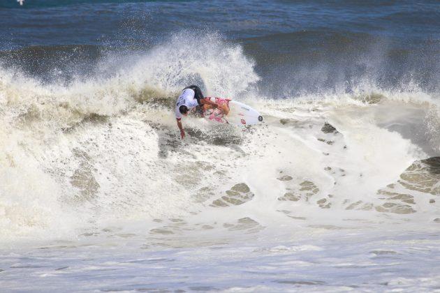 Leandro Bastos, Maricá Surf Pro / AM 2019, Ponta Negra (RJ). Foto: @surfetv / @carlosmatiasrj.