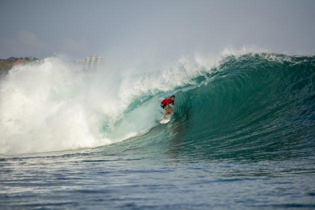 Matt Wilkinson, Rip Curl Cup 2019, Padang Padang, Bali, Indonésia. Foto: Nate Lawrence.