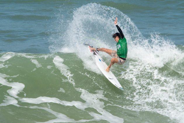 Pedro Dib, Macaé Surf Pro, Praia do Pecado (RJ). Foto: Leandro Foca.