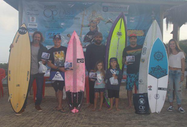 Pódio Master, OP ASJ Kids and Kings 2019, Joaquina, Florianópolis (SC). Foto: Basilio Ruy/P.P07.