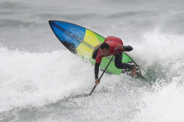 Luiz Diniz, Jogos Pan-Americanos 2019, Punta Rocas, Peru. Foto: Alexandre Loureiro / COB.