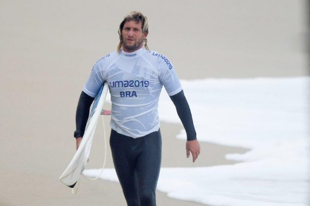 Robson Santos, Jogos Pan-Americanos 2019, Punta Rocas, Peru. Foto: Alexandre Loureiro / COB.