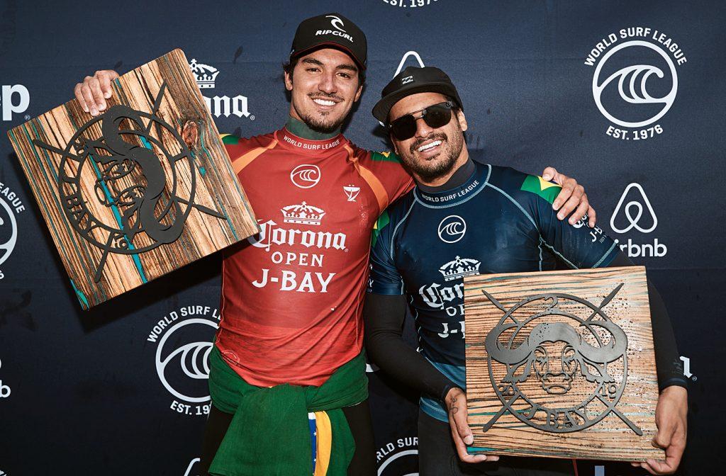 Gabriel Medina e Italo Ferreira estão nas primeiras posições do Ranking do Tour.