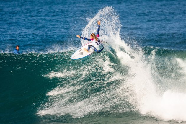 Keely Andrew, Open J-Bay 2019, Jeffreys Bay, África do Sul. Foto: WSL / Tostee.