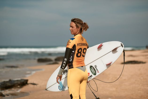 Sally Fitzgibbons, Open J-Bay 2019, Jeffreys Bay, África do Sul. Foto: WSL / Sloane.