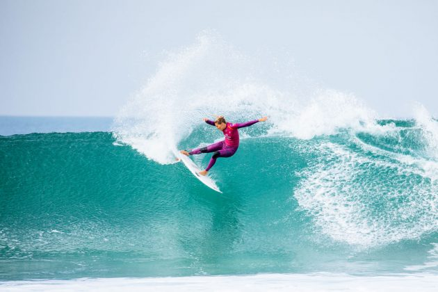 Stephanie Gilmore, Open J-Bay 2019, Jeffreys Bay, África do Sul. Foto: WSL / Tostee.