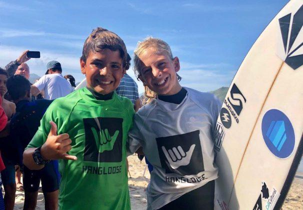 Kailani Rennó e Anuar Chiah, Hang Loose Surf Attack 2019, Perequê-Açú, Ubatuba (SP). Foto: Fábio Maradei.