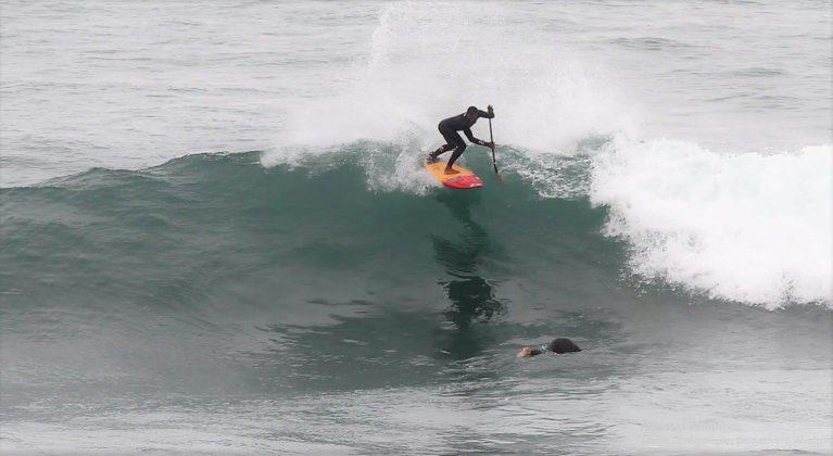 Luiz Diniz, Punta Rocas, Peru. Foto: Carmelo Seabra e Américo Pinheiro.