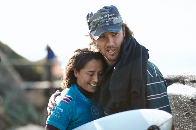 Malia Manuel, Open J-Bay 2019, Jeffreys Bay, África do Sul. Foto: WSL / Sloane.