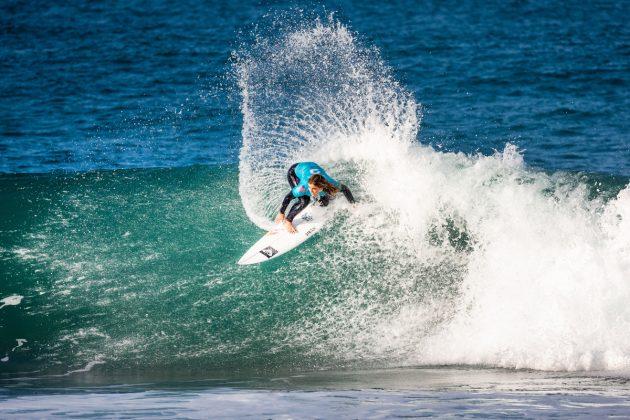Caroline Marks, Open J-Bay 2019, Jeffreys Bay, África do Sul. Foto: WSL / Tostee.