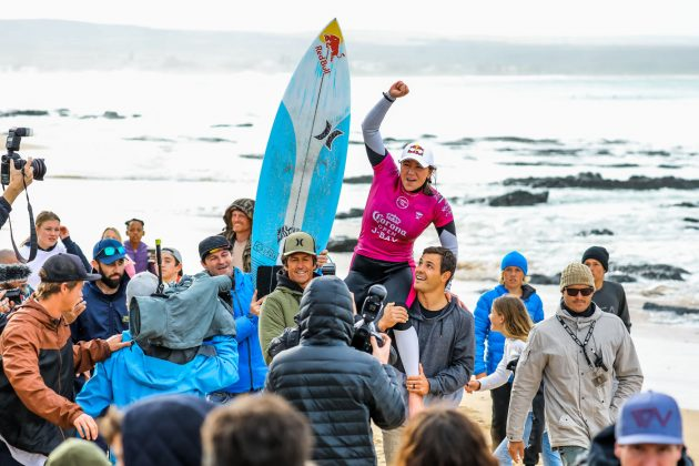 Carissa Moore, Open J-Bay 2019, Jeffreys Bay, África do Sul. Foto: WSL / Tostee.
