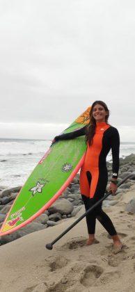 Nicole Pacelli, Punta Rocas, Peru. Foto: Carmelo Seabra e Américo Pinheiro.