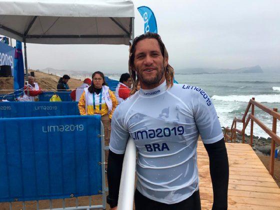 Robson Santos, Jogos Pan-Americanos 2019, Punta Rocas, Peru. Foto: Divulgação.
