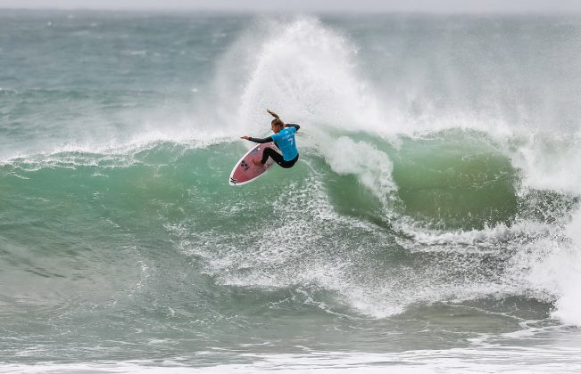 Lakey Peterson, Open J-Bay 2019, Jeffreys Bay, África do Sul. Foto: WSL / Tostee.