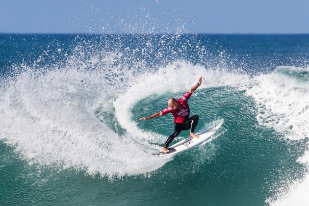 Kelly Slater, Open J-Bay 2019, Jeffreys Bay, África do Sul. Foto: WSL / Tostee.