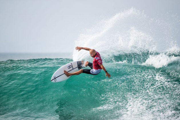 Kelly Slater, Open J-Bay 2019, Jeffreys Bay, África do Sul. Foto: WSL / Sloane.