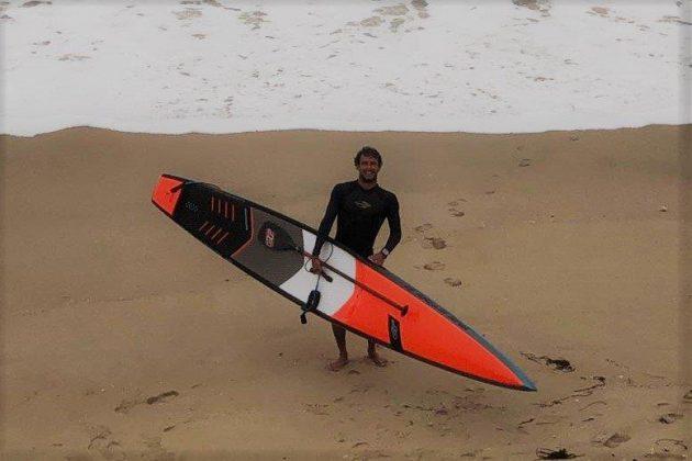 Vinnicius Martins, Punta Rocas, Peru. Foto: Carmelo Seabra e Américo Pinheiro.
