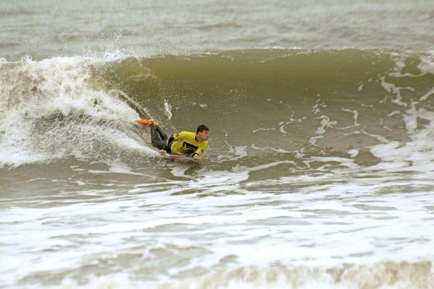 Jailton Camargo, Paranaense de Bodyboard 2019, Praia Brava, Guaratuba (PR). Foto: Vinicius Araújo / Thaise Oliveira.