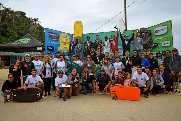 Paranaense de Bodyboard 2019, Praia Brava, Guaratuba (PR). Foto: Vinicius Araújo / Thaise Oliveira.