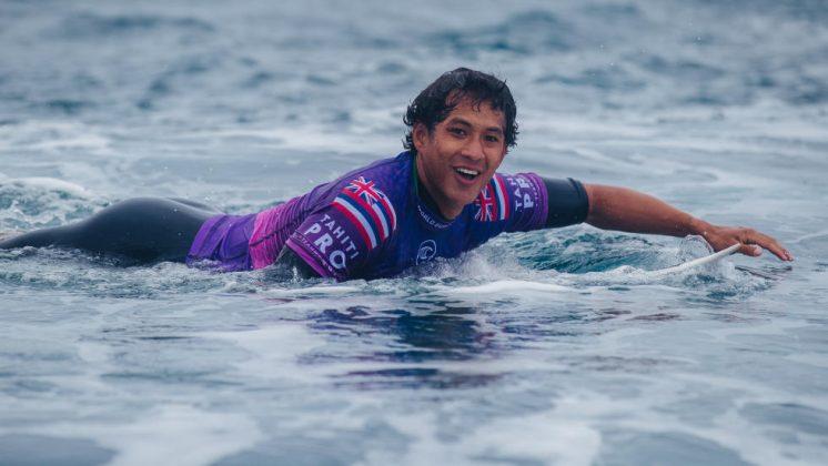 Seth Moniz, Tahiti Pro 2019, Teahupoo. Foto: Divulgação / WSL.