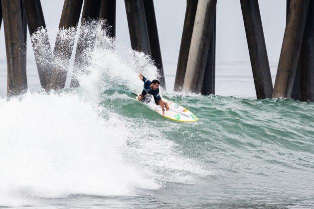 Adriano de Souza, Vans US Open 2019, Huntington Beach, Califórnia (EUA). Foto: WSL / Morris.