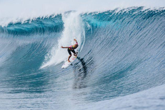 Jadson André, Tahiti Pro 2019, Teahupoo. Foto: WSL / Dunbar.