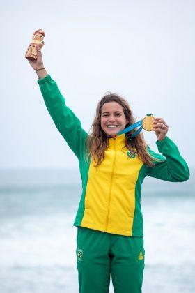 Chloé Calmon, Jogos Pan-Americanos 2019, Punta Rocas, Peru. Foto: ISA / Jimenez.