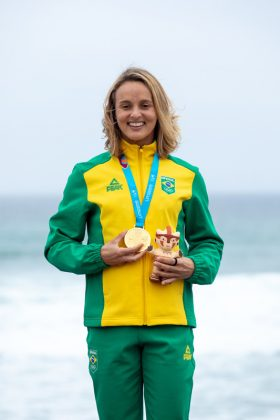 Lena Ribeiro, Jogos Pan-Americanos 2019, Punta Rocas, Peru. Foto: ISA / Jimenez.
