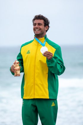 Vinnicius Martins, Jogos Pan-Americanos 2019, Punta Rocas, Peru. Foto: ISA / Jimenez.