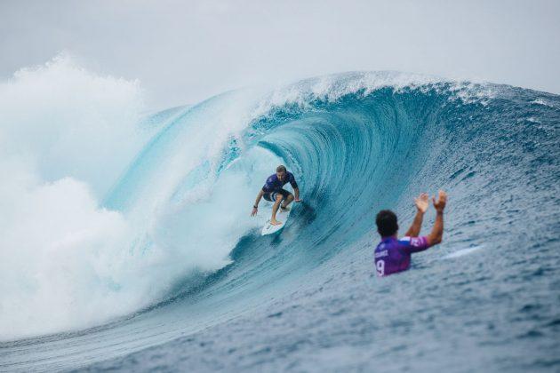 Adrian Buchan, Tahiti Pro 2019, Teahupoo. Foto: WSL / Dunbar.