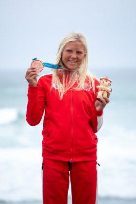 Mathea Dempfle-Olin, Jogos Pan-Americanos 2019, Punta Rocas, Peru. Foto: ISA / Jimenez.
