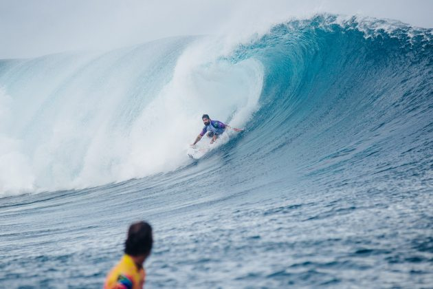 Willian Cardoso, Tahiti Pro 2019, Teahupoo. Foto: WSL / Dunbar.