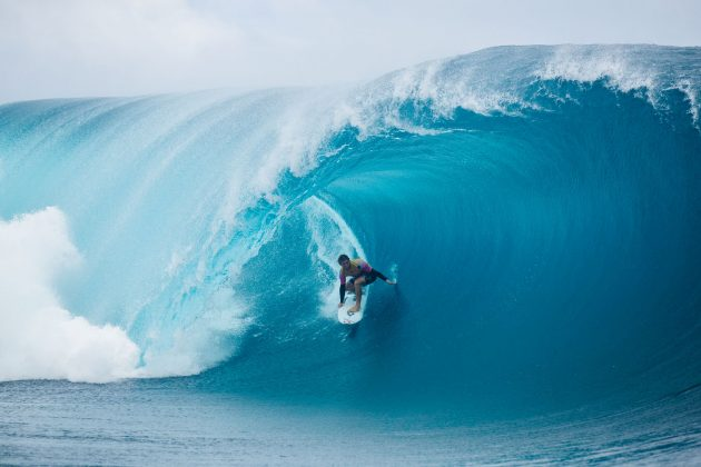 Conner Coffin, Tahiti Pro 2019, Teahupoo. Foto: WSL / Dunbar.