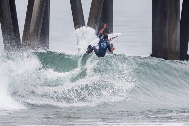 Connor O'Leary, Vans US Open 2019, Huntington Beach, Califórnia (EUA). Foto: WSL / Morris.