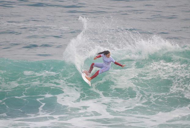 Daniela Rosas, Jogos Pan-Americanos 2019, Punta Rocas, Peru. Foto: Latinwave.cl.