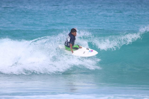 Davi Teixeira, Praia do Forte, Cabo Frio (RJ). Foto: @surfetv / @carlosmatiasrj.