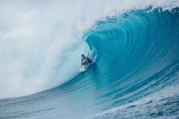 Adriano de Souza, Tahiti Pro 2019, Teahupoo. Foto: WSL / Dunbar.